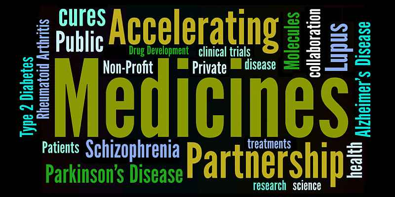 Accelerating Medicines Partnership Schizophrenia word cloud