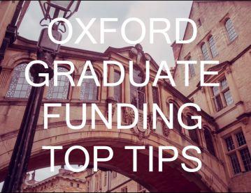 Oxford Graduate Funding Top Tips