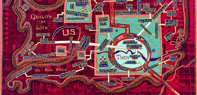 Talking Maps - Grayson Perry Red Carpet 2017