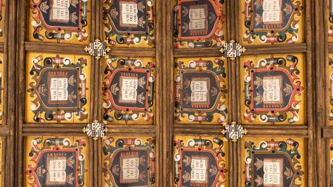 Image of Duke Humfrey's Reading Room ceiling
